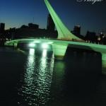 Puente de la Mujer en Puerto Madero