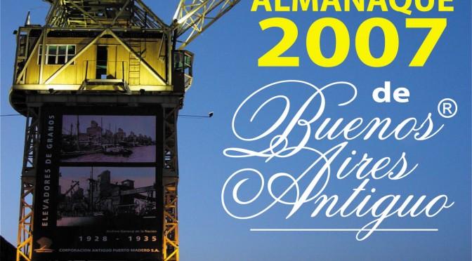 SELECCIÓN DE FOTOS DEL ALMANAQUE 2007 DE BUENOS AIRES ANTIGUO