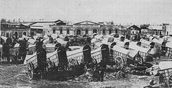 RELATO DE UN VIAJE EN CARRETA, AÑO 1855